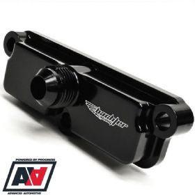 Bachler Racing Subaru Impreza GC8 Rocker Cover Breather Caps AN8 V1 To V4 | Advanced Automotive
